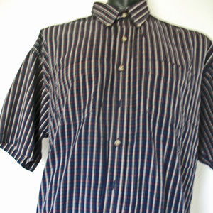 Van Huesen Casual Shirt Size XXL Men's Shrt Sleeve